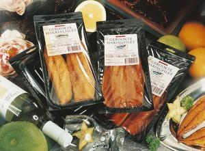 Embalagem para peixes
