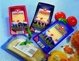 Embalagem personalizada queijo Multivac
