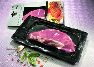 carne embalada a vácuo